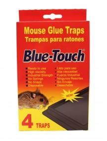 Blue Touch Mouse Glue Trap 4 pk