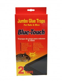 Blue Catch Jumbo Glue Traps for Rats & Mice 2 ct