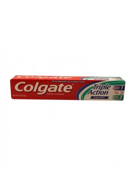 Colgate 2.5 oz Toothpaste - Triple Action Original Mint