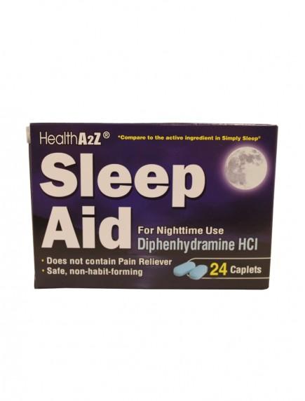 HealthA2Z Sleep Aid 24 Caplets