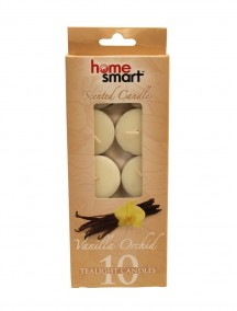 Home Smart Scented Tealight Candles 10 ct - Vanilla Orchid