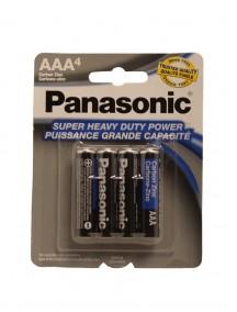 Panasonic AAA Batteries 4 pk