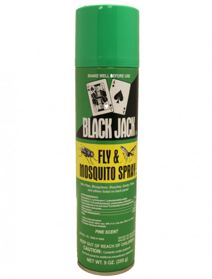 Black Jack Fly & Mosquito Spray 9 oz - Pine Scent