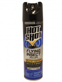 Hot Shot Flying Insect Killer Spray 15 oz - Clean Fresh Scent