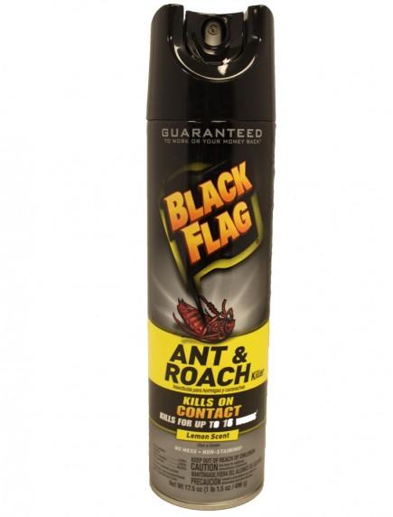 Black Flag Ant & Roach Killer Spray 17.5 oz - Lemon Scent