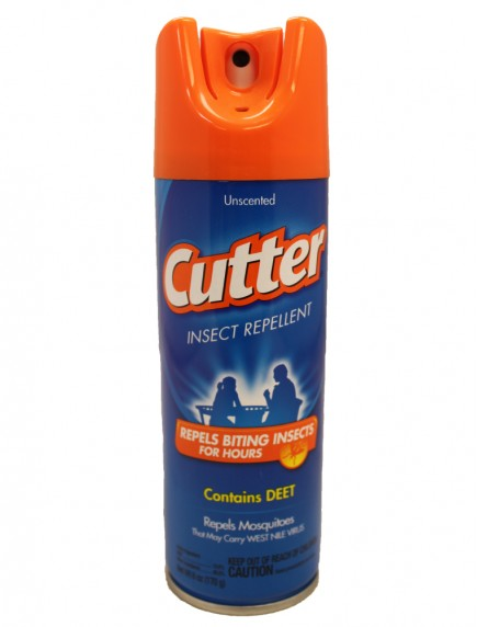 Cutter Insect Repellent 6 oz - Unscented