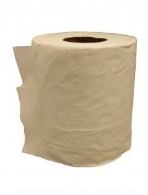 Jumbo White Paper Towel Roll Loose