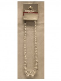 No Boundaries Bead Necklace - Clear