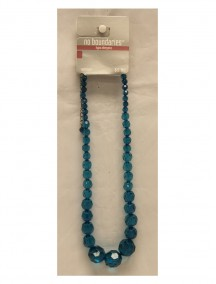 No Boundaries Bead Necklace - Turquoise