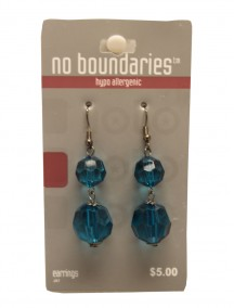 No Boundaries Bead Earrings - Turquoise