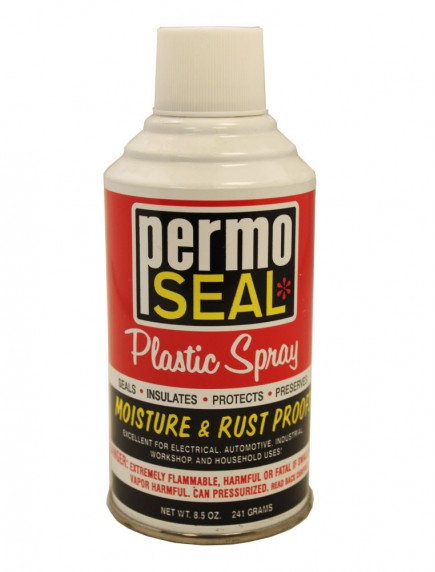 Permo Seal Plastic Spray 8.5 oz