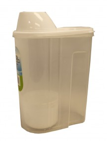 Plastic Cereal Pitcher with Cup 2 Liter