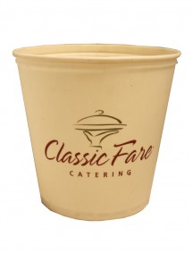Classic Wax Coated Bucket 165 oz