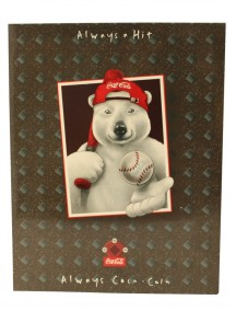 Coca Cola 2 Pocket Folder