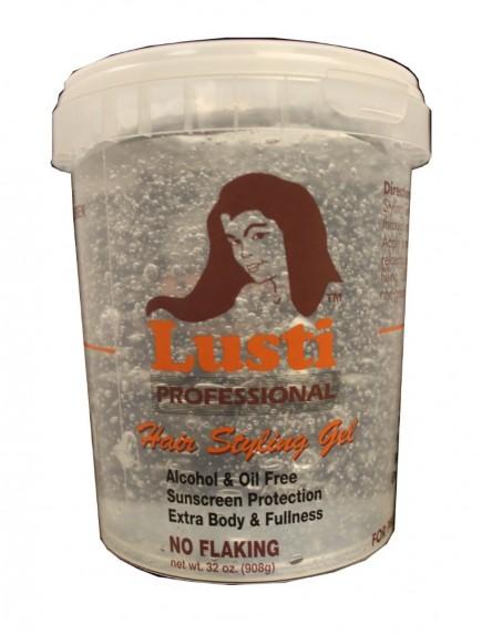 Lusti Hair Styling Gel 32 oz - Clear