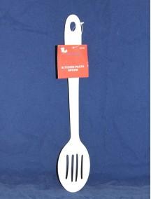 Kitchen Pasta Spoon - White