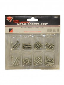 Metal Screws Assorted