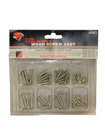 Wood Screws Assorted