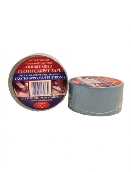 Double Sided Cloth Carpet Tape 2 in x 11 yds