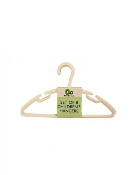 Plastic Children's Hangers 8 pk