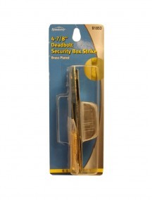 Deadbolt Security Box Strike 4-7/8in