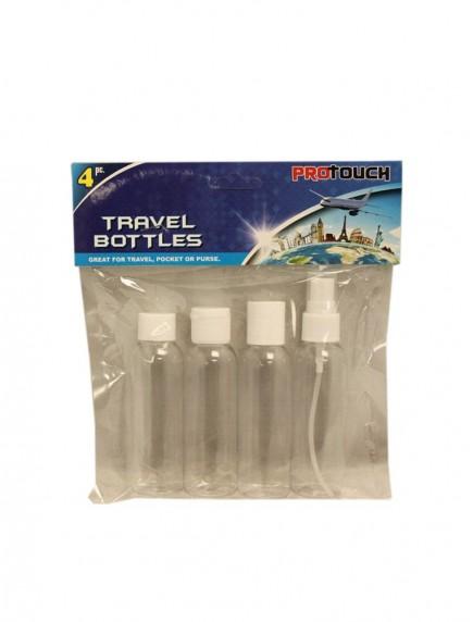 Travel Bottles 4 pk