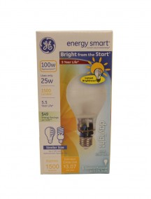 GE Energy Smart Light Bulb 1ct  25w - Daylight Cool Color Tone
