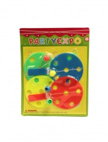 Party Expo Paddle Ball 4 pk