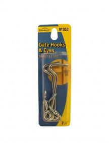Gate Hooks & Eyes 2pc