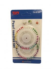 Pearl Needle Pin Set