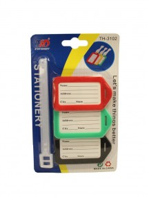 Luggage Tags 3 ct