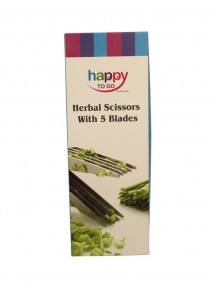 Happy To Go Herbal Scissors with 5 Blades