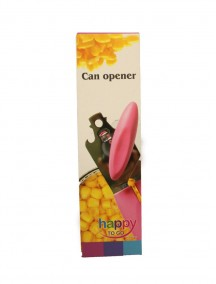 Happy To Go Can Opener - Pink