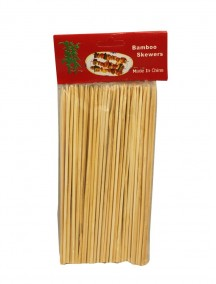 "Bamboo Skewers 6"" 100 ct"