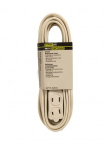 Extension Cord 14.7 ft - White