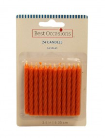 Best Occasions Candles 24 ct - Orange Peel