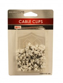 Cable Clips 100 pc