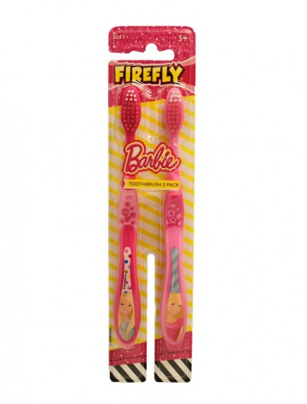 Firefly Kids Soft Toothbrushes 2 pk - Barbie