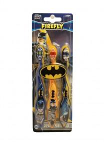 Firefly Kids Soft Toothbrushes 3 pk - Batman