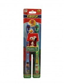 Firefly Kids Soft Toothbrushes 2 pk - Peanuts