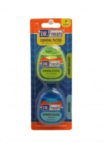 Dr. Fresh Dental Floss 55 yd 2 pk