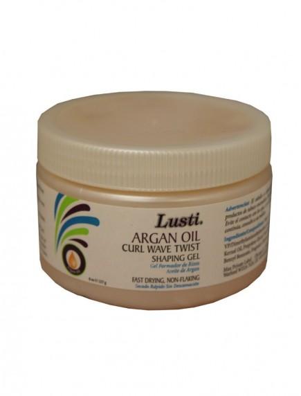 Lusti Naturals Argan Oil Curl, Wave, Twist Shaping Gel 8 oz