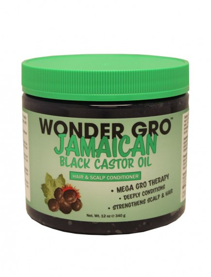 Wonder Gro Jamaican Black Castor Oil Hair & Scalp Conditioner 12 oz