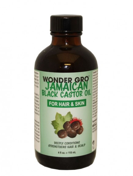 Wonder Gro Jamaican Black Castor Oil For Hair & Skin 4 fl oz