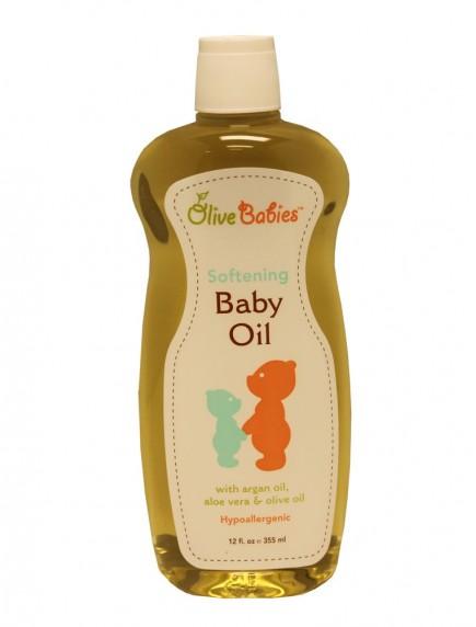 Olive Babies Softening Baby Oil 12 fl oz