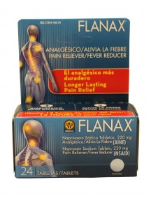Flanax Pain Reliever/Fever Reducer 24 ct Tablets