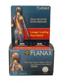 Flanax Pain Reliever/Fever Reducer 10 ct Tablets