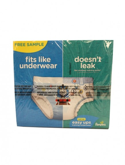 Pampers Easy Ups Training Underwear 2 ct - For Boy and Girl Size 3T - 4T