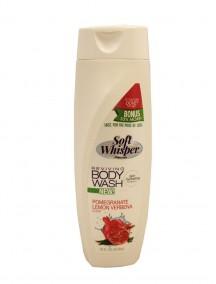 Soft Whisper Reviving Body Wash 16 fl oz - Pomegranate Lemon Verbena Scent