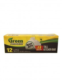 Green Products Tall Kitchen Bags 12 ct - 13 Gallon